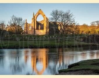 Framed Photographic Fine Art Print. Bolton Abbey, Yorkshire, England