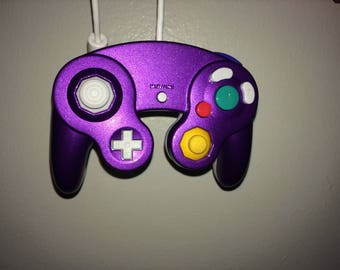 Brand New Purple and White Smash for WiiU Controller