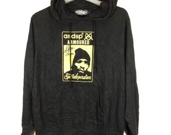 Off 10%!! Vintage Asnadispec(asdsp) hoodie
