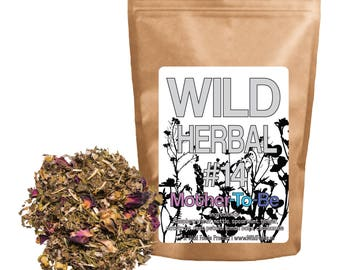Wild Herbal #14 - Mother-To-Be Tea Blend - 8 Ingredient Blend (4 ounce) by Wild Foods