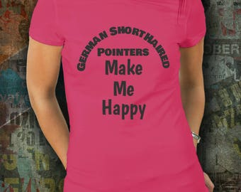 German Shorthaired Pointers Tee Shirt