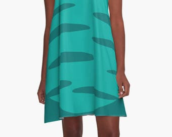Retro Dress, Womens Gift, Dress, Summer Dress, Party Dress, , XL Dress, Retro, Mini Dress, Mod Dress, Blue Dress, Casual Dress