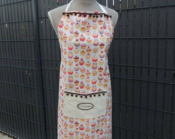 Cute apron with Potholder and his glove