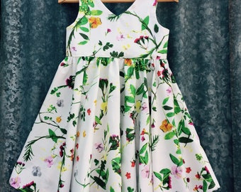 Girls' tea party dress