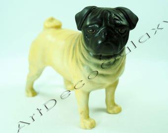 Vintage Beswick Pug Figurine