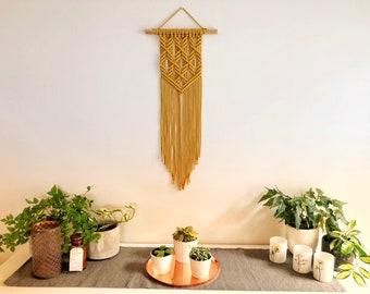 Macrame Wall hanging | Angles | Modern, geometric, minimalistic,