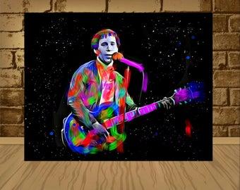 paul simon poster,paul simon print,paul simon art,paul simon,music art,music poster,music print,home decor,wall art,rock,art garfunkel,art