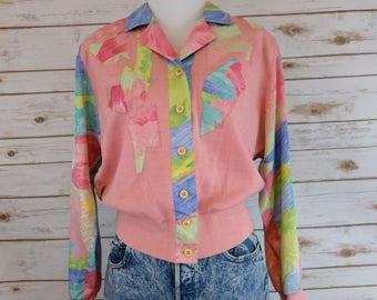 Vintage Philippe Marques Petite Pink Jacket