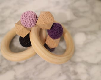 Purple Ombre Sensory Toy/Teether