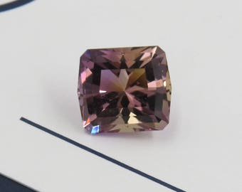 6.52ct Precision Cut Ametrine