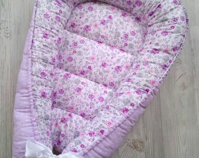 Baby nest.Co sleeping.Baby naptime.Co sleeper crib.Baby travel bed.Baby lounger.Baby shower gift.Baby bed.Double sided baby nest.Baby crib