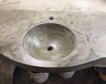 "60"" single bowl vanity"