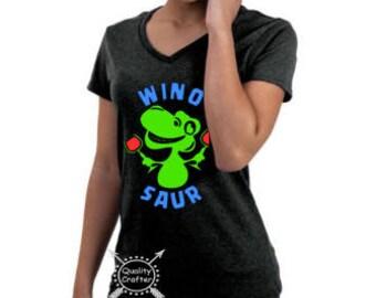 Winosaur shirt, WINO, Wine, Women's gift, Women's tshirt, Ladies T-shirt