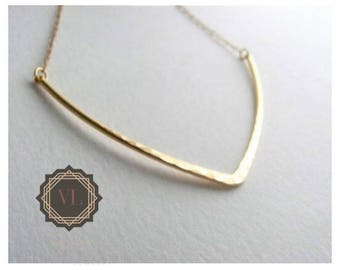 Boomerang Necklace