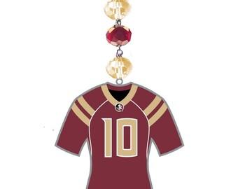 FLORIDA STATE University *Jersey* MAGNETIC Ornament,Fsu Home Decor,Seminoles Gifts,Noles,Fsu Ornament,Fsu gift,Florida state