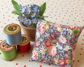 Fabric pincushion