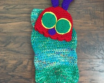 Very Hungry Caterpillar Baby Cocoon- Baby Shower Gift, Baby Gift, Caterpillar, Eric Carle, Photoprop, Newborn Photoprop, Cute Baby Gift