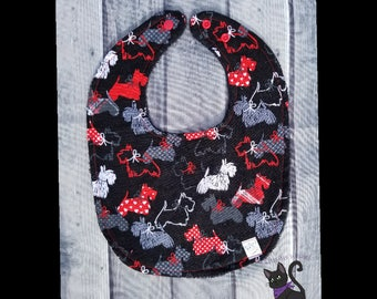 Love Scotties bib