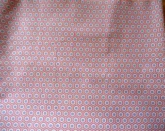 Fabric cotton geometric patterns