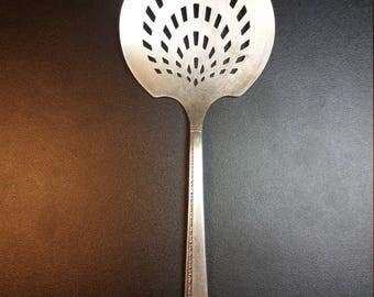 Prestige Pattern Silverplate Serving Spoon