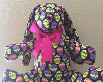 Stuffed Animal Easter Bunny with Floppy Ears