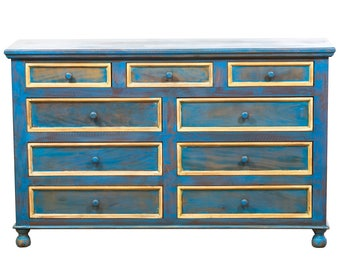 Antique Vintage Chest of Drawers -Eco-Friendly Reclaimed Solid Wood