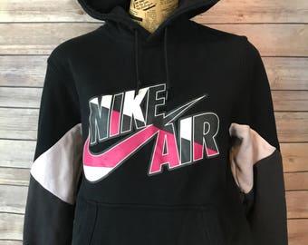 Vintage 90s Nike Air Hooded Sweatshirt (S)