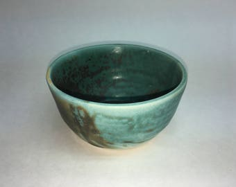 Little Blue and Black Bowl
