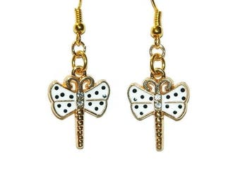 Dragon Fly Earrings, Butterfly Earrings