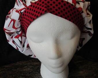 Women's Bouffant Scrub hat