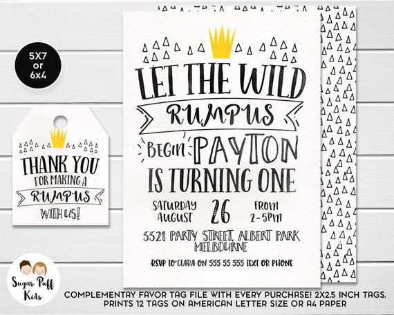 Wild one birthday invitation wild prince crown birthday il570xn stopboris Image collections
