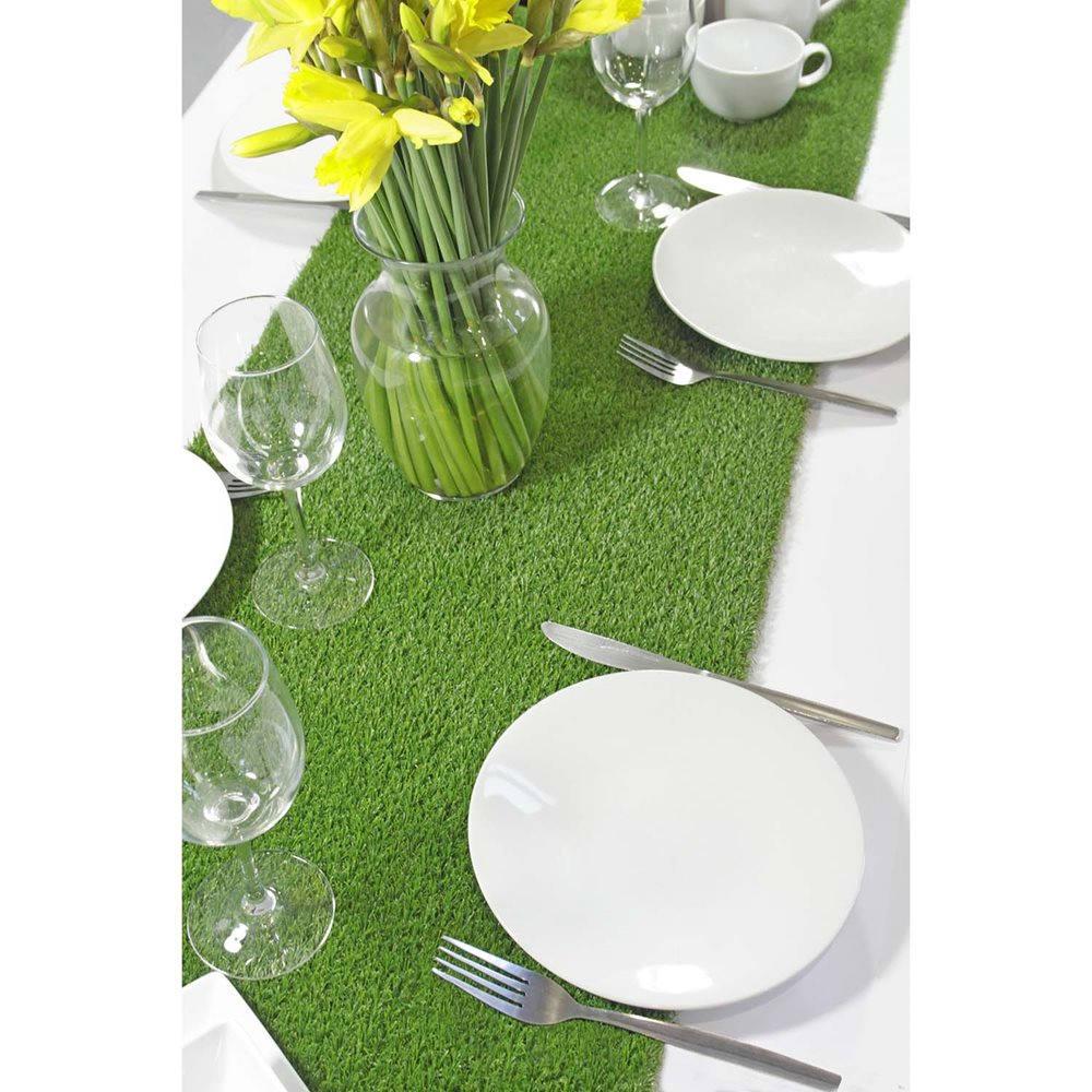 Artificial Grass Table Runner, Wedding Table Runner Alternative, Tea Party Table  Runner, Alternative