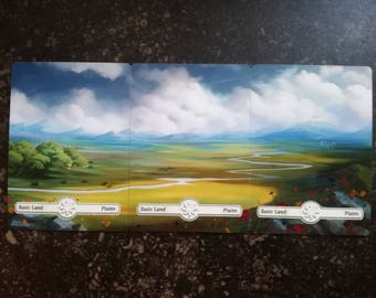 Panoramalands - Plains A - Magic The Gathering Altered-Artwork Cards