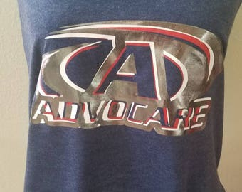 Tri color tank top advocare