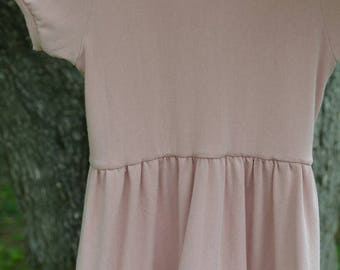 Baby dress - pink baby dress - ready to ship baby dress - blush dress