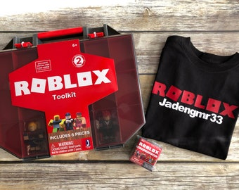 Unofficial Roblox T-shirt Personalize with gamer username boys/girls