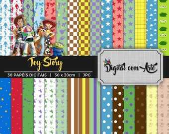 Toy Story Digital Paper
