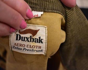 vintage 70s duxbak hunting jacket size 44 large