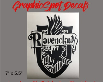 Ravenclaw Badge | Vinyl Decal |