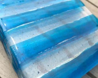 Fused glass coasters (4)