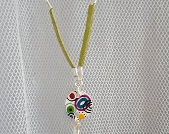 Spiral set necklace and earrings