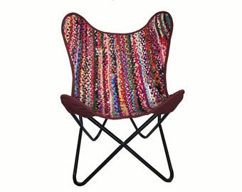 Butterfly boho chair