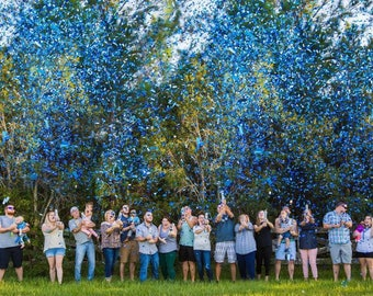 Sale! Ships Same Day! XL Gender Reveal Confetti Cannon - FASTEST SHIPPING!