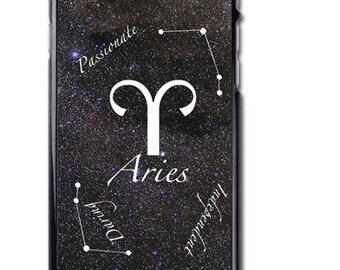 Aries Zodiac Sign iPhone Case Cover