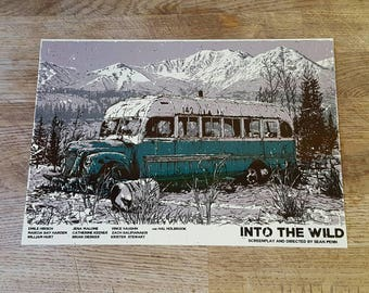 Into the wild metal poster