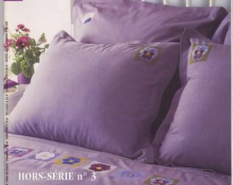 Cross stitch magazine needle No. 3 special issue - Véronique Enginger