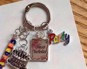 Birthday keychain