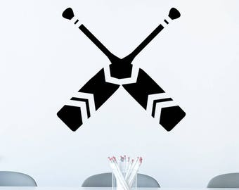 Canoe Paddle Decal