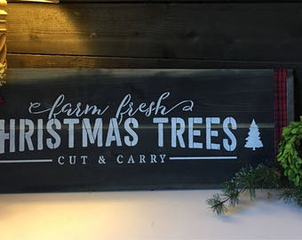 Decorative Christmas sign