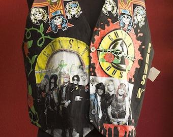 Guns N Roses 80's vest size Large